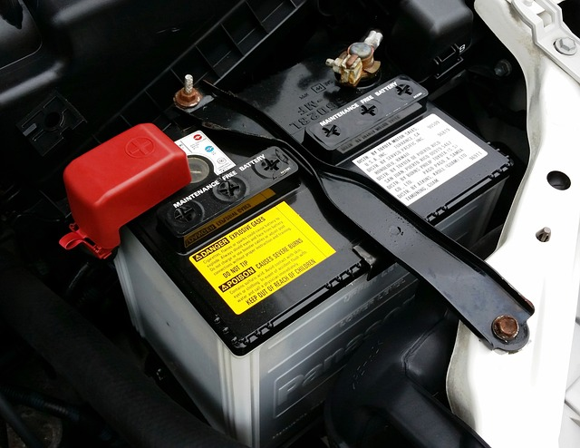 Car battery check and replacement