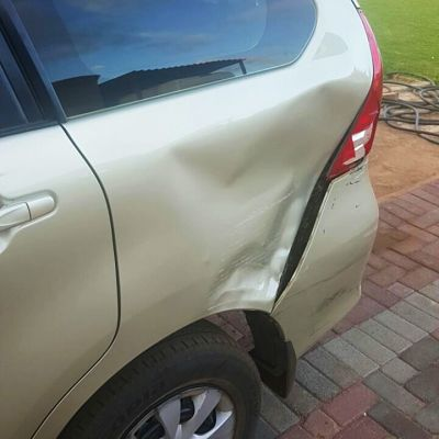 Toyota small crash - we repair most minor accidents