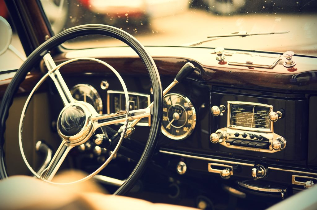 antique auto interiors with every aspect carefully sourced and fitted