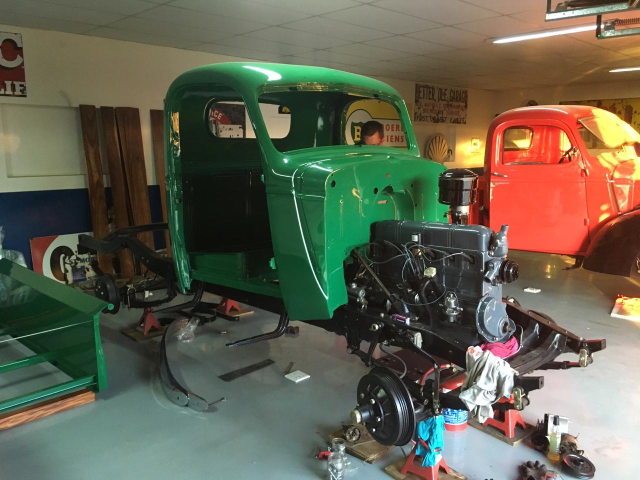 Classic and Vintage car restoration after an accident